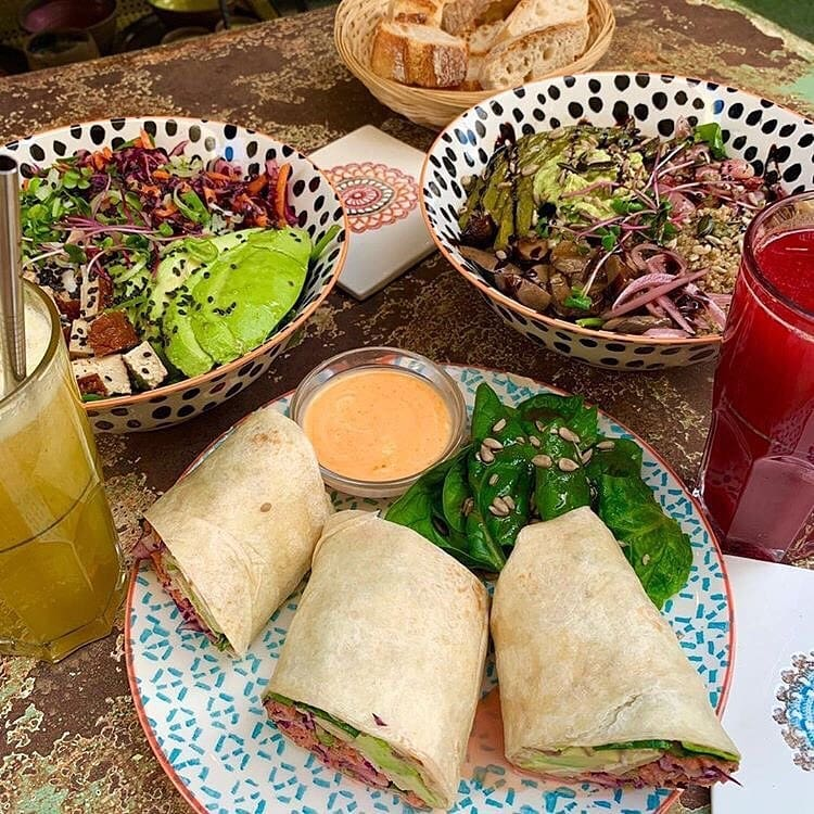 Auden Bowls Wraps Juices Smoothies Healthy Food Montpellier